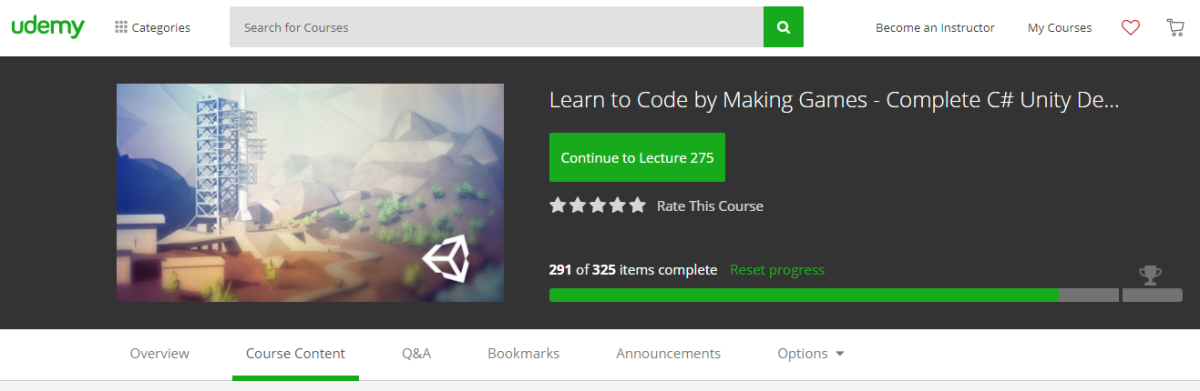 LEARN TO CODE BY MAKING GAMES – COMPLETE C# Unity DEVELOPER