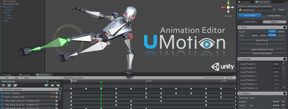 Animate Characters In Unity with UMotion